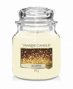 Yankee Candle ALL IS BRIGHT (średni)
