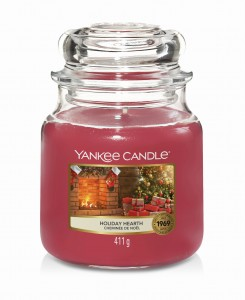 Yankee Candle HOLIDAY HEARTH (średni)